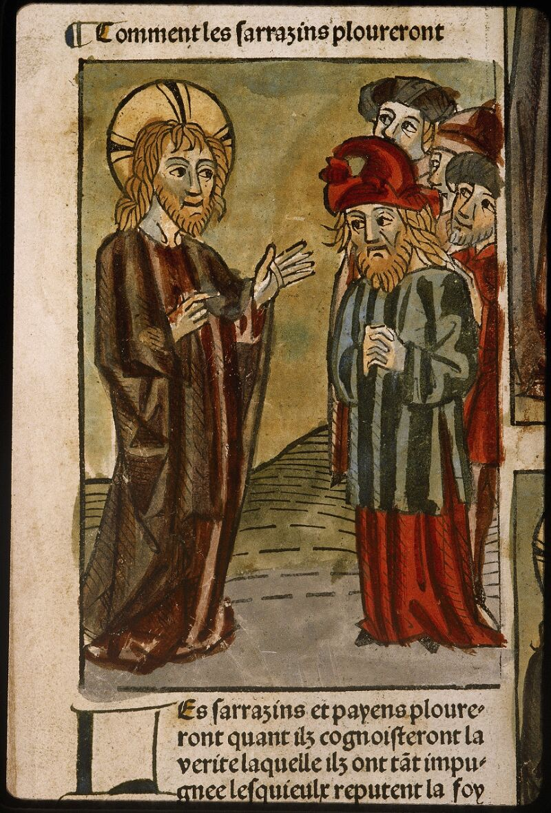 Lyon, Bibl. mun., inc. 1043, f. 487v - vue 1