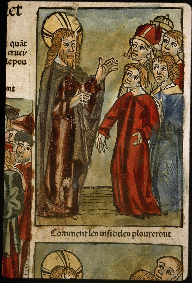 Lyon, Bibl. mun., inc. 1043, f. 487v - vue 2