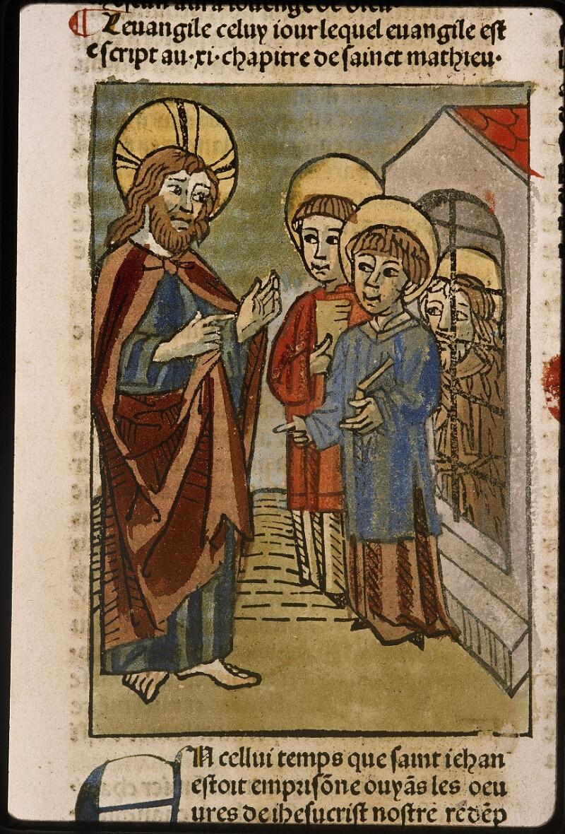 Lyon, Bibl. mun., inc. 1043, f. 491
