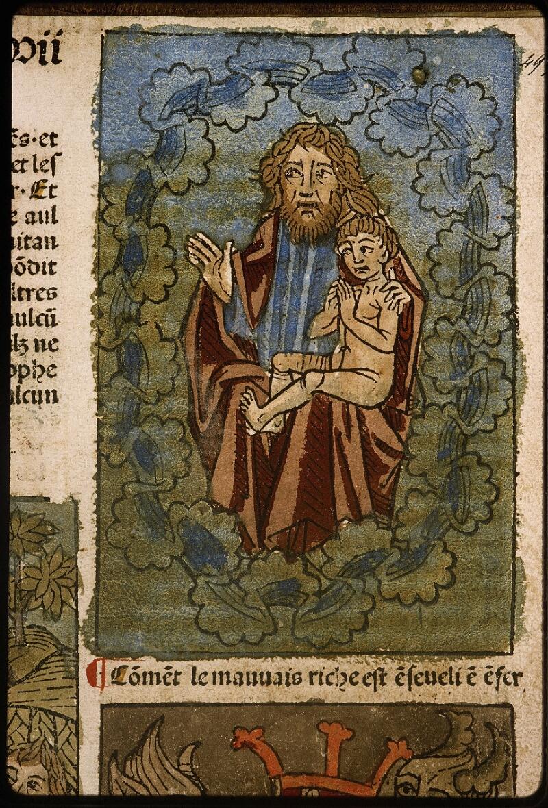 Lyon, Bibl. mun., inc. 1043, f. 495 - vue 2