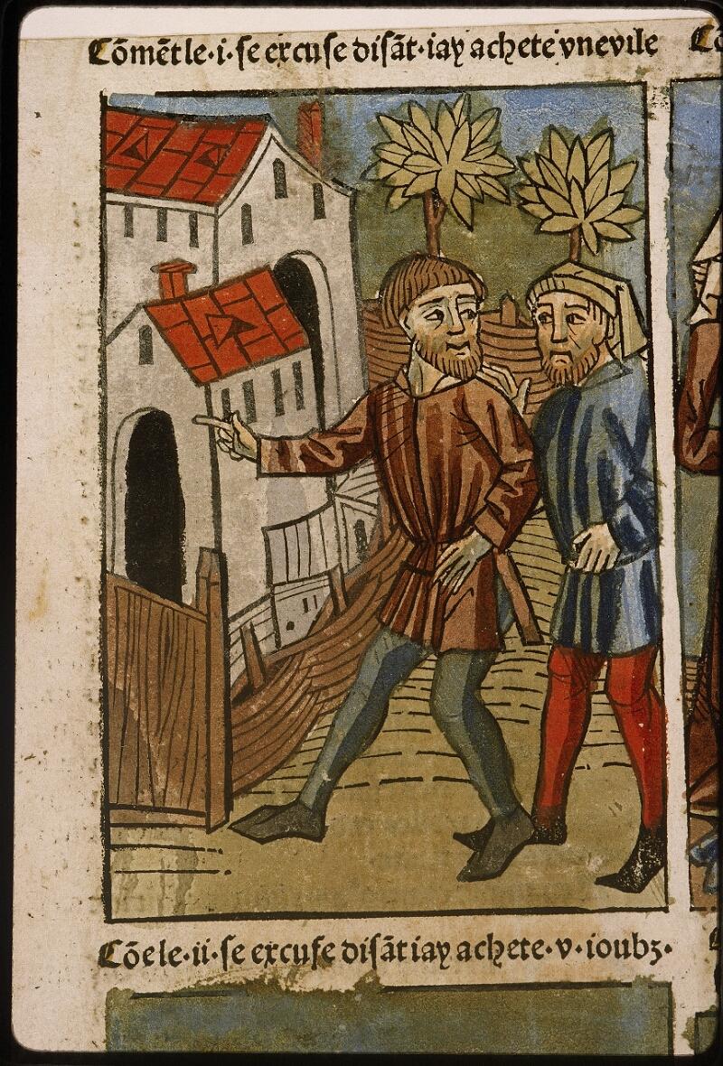 Lyon, Bibl. mun., inc. 1043, f. 496v - vue 2