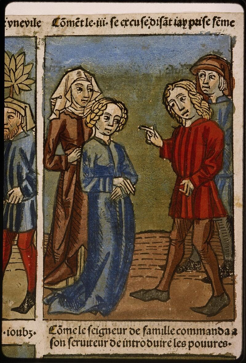 Lyon, Bibl. mun., inc. 1043, f. 496v - vue 3