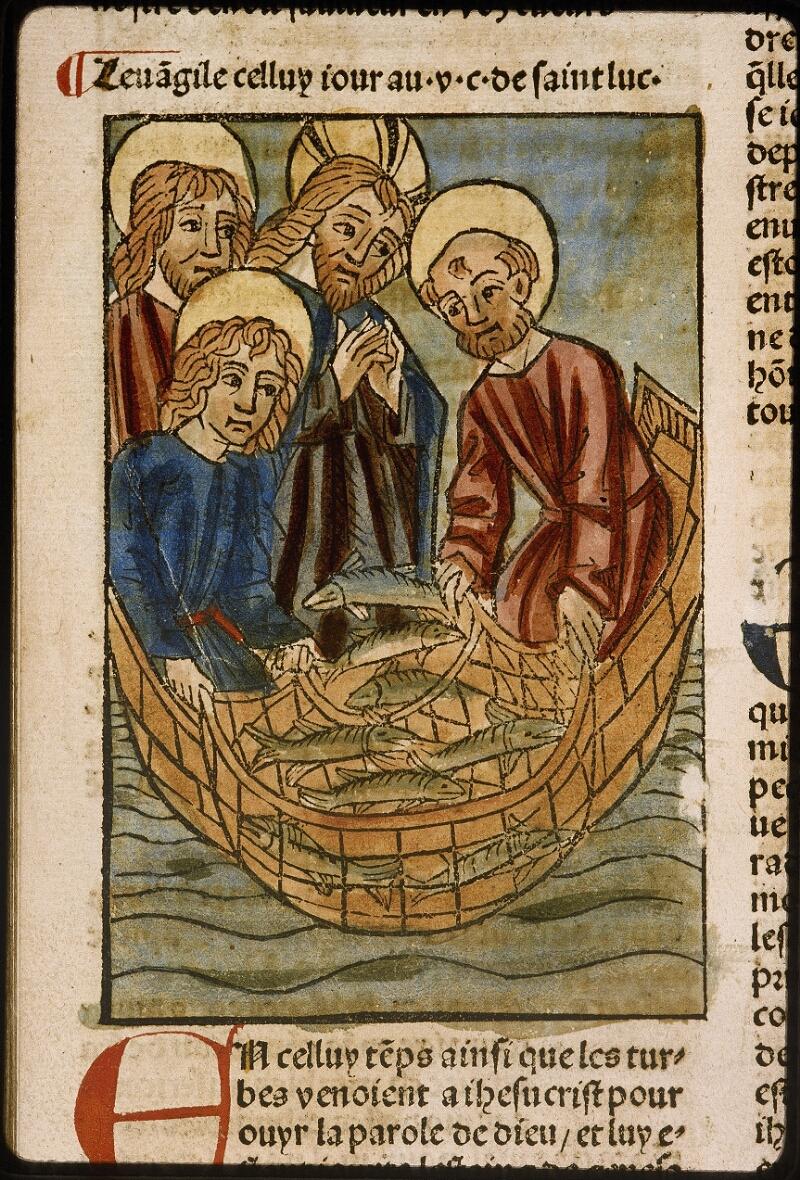 Lyon, Bibl. mun., inc. 1043, f. 500v