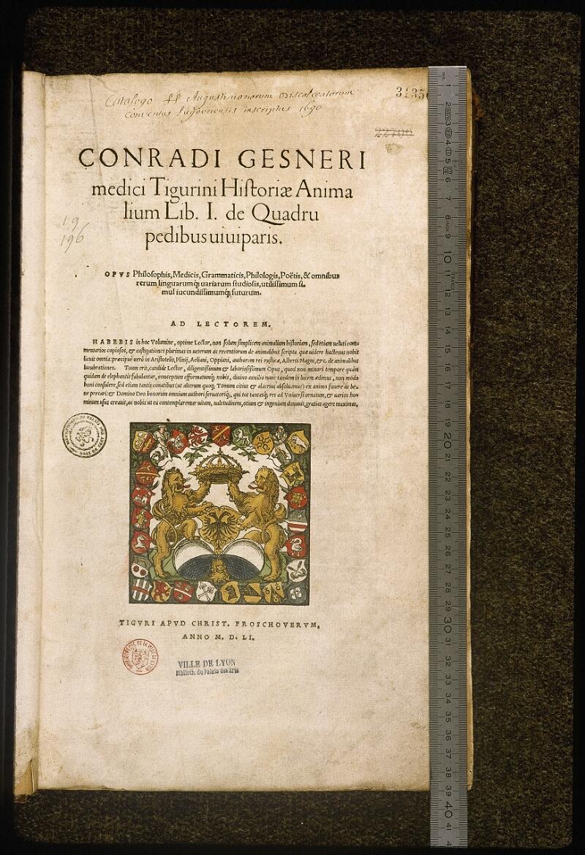 Lyon, Bibl. mun., rés. 031356, p. 0001 - vue 1