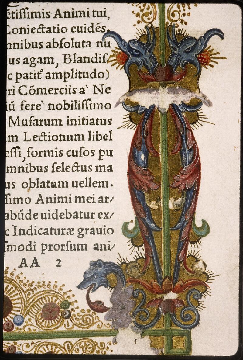 Lyon, Bibl. mun., rés. 106878, f. AA 2 - vue 5