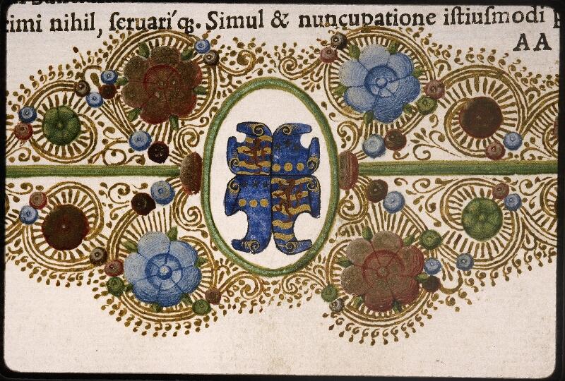 Lyon, Bibl. mun., rés. 106878, f. AA 2 - vue 6