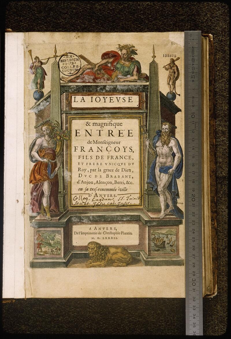 Lyon, Bibl. mun., rés. 125675 - vue 01