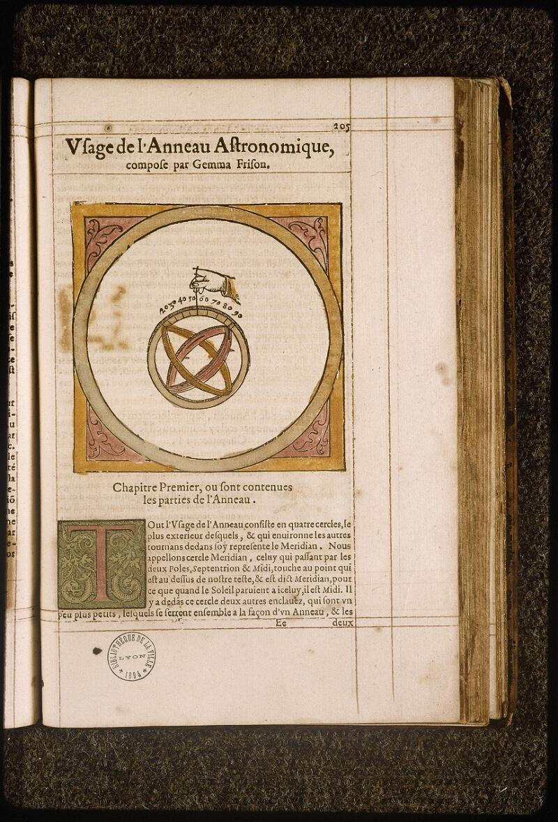 Lyon, Bibl. mun., rés. 317732, p. 205