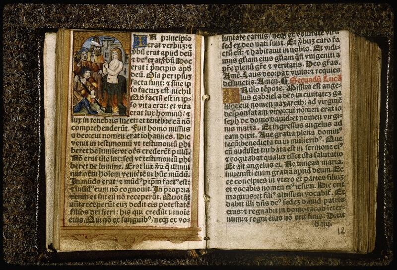 Lyon, Bibl. mun., rés. 810367, f. 011v-012 - vue 2