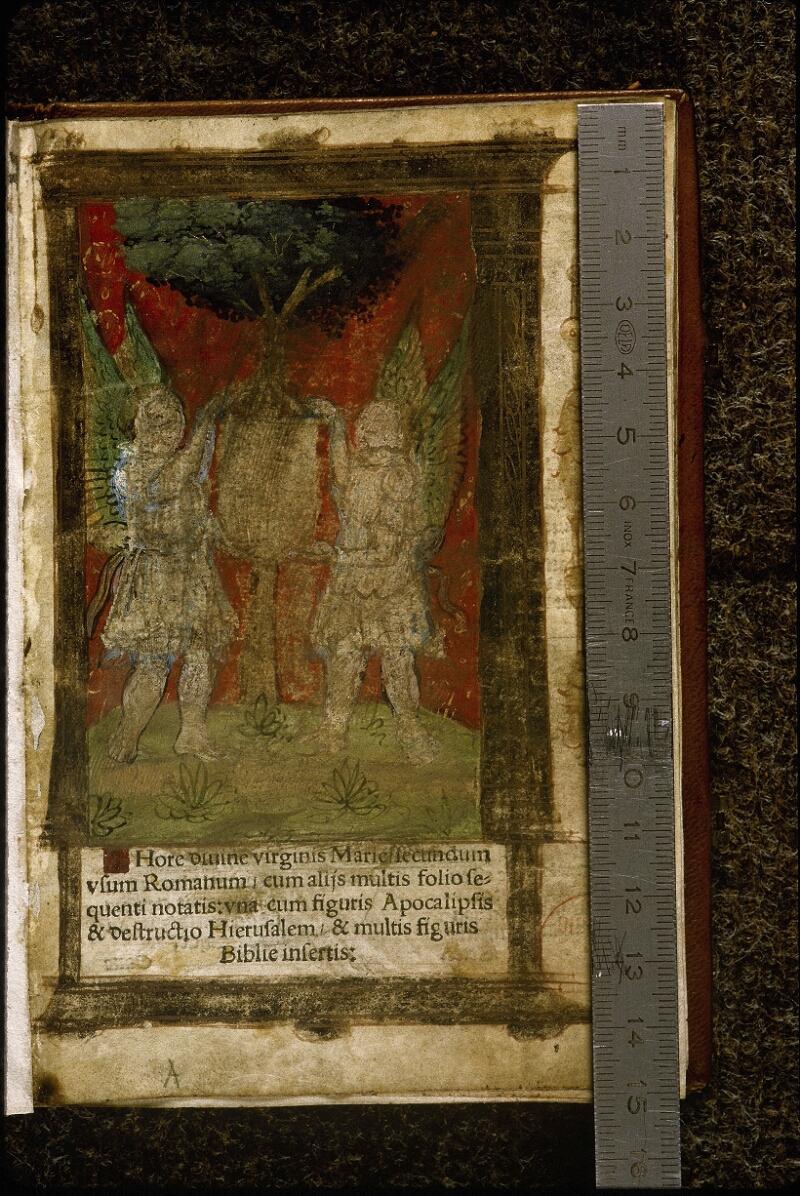 Lyon, Bibl. mun., rés. A 491956, f. 001 - vue 1