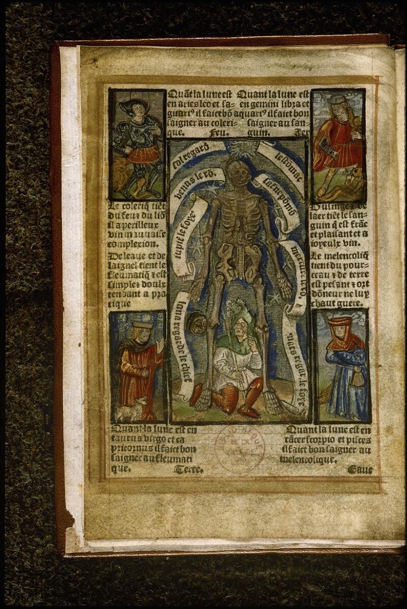 Lyon, Bibl. mun., rés. A 491956, f. 001v - vue 1