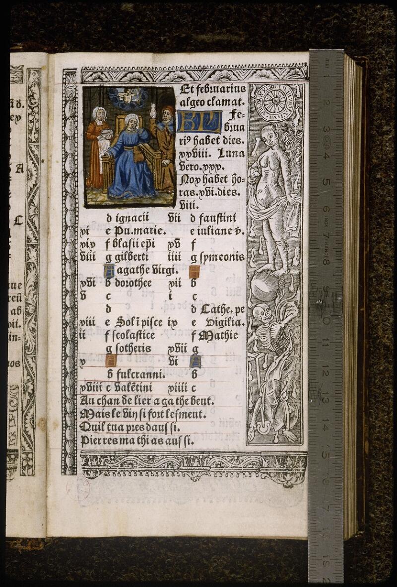 Lyon, Bibl. mun., rés. B 496344, f. A 3 - vue 1