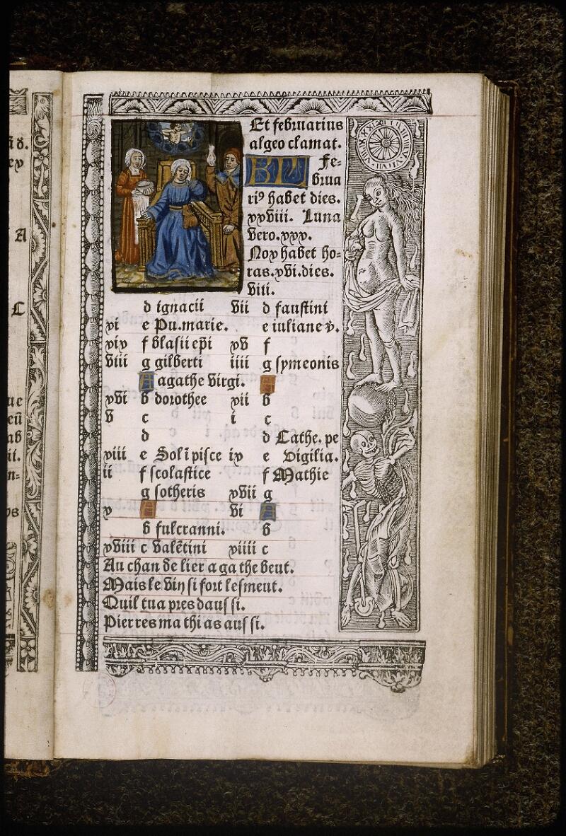 Lyon, Bibl. mun., rés. B 496344, f. A 3 - vue 2