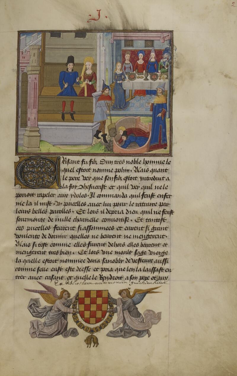Mâcon, Bibl. mun., ms. 0003, f. 002 - vue 1