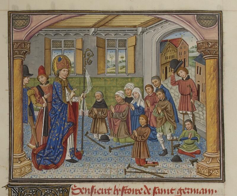 Mâcon, Bibl. mun., ms. 0003, f. 171 - vue 1
