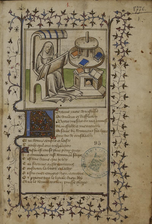Mâcon, Bibl. mun., ms. 0095, f. 001 - vue 1
