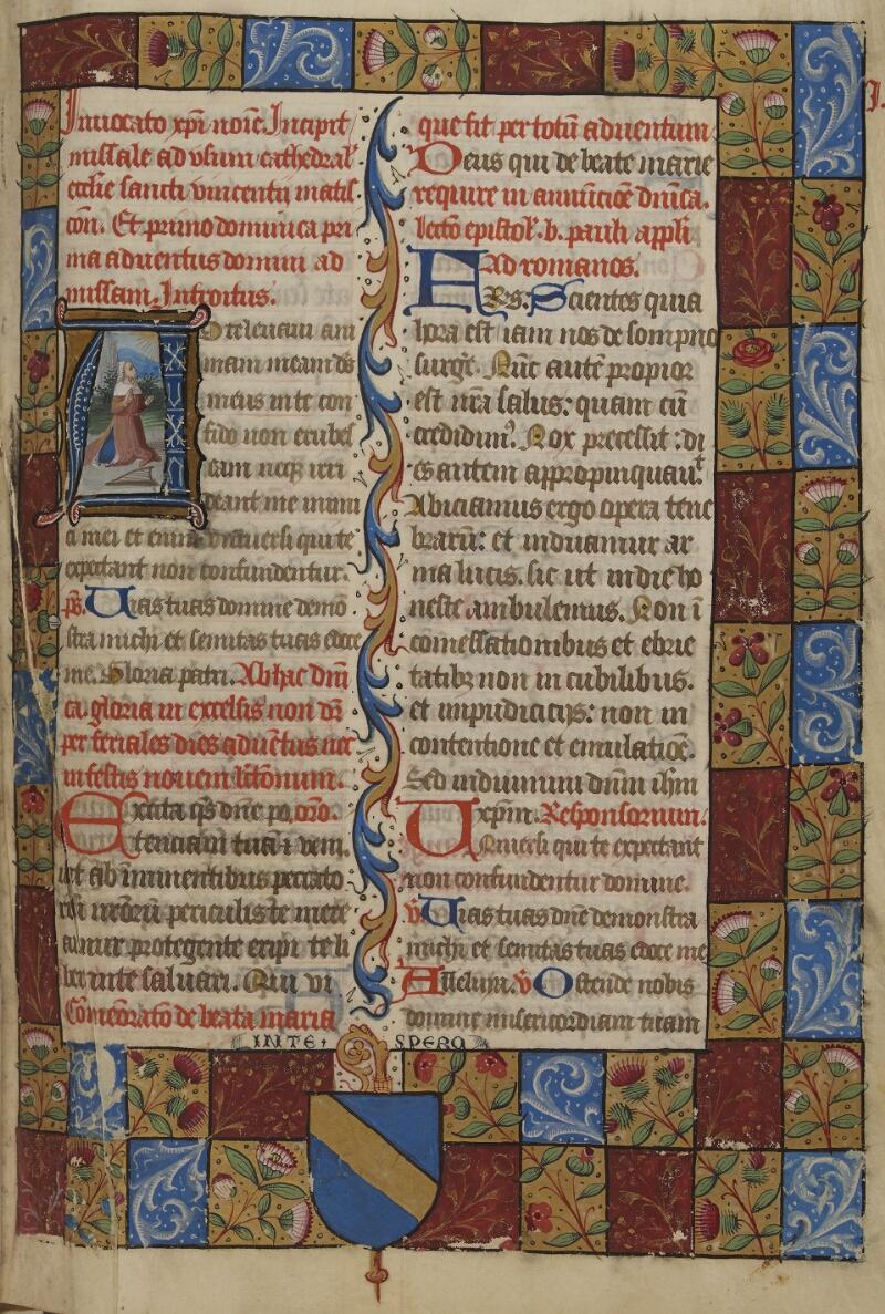 Mâcon, Bibl. mun., ms. 0100, f. 008 - vue 1