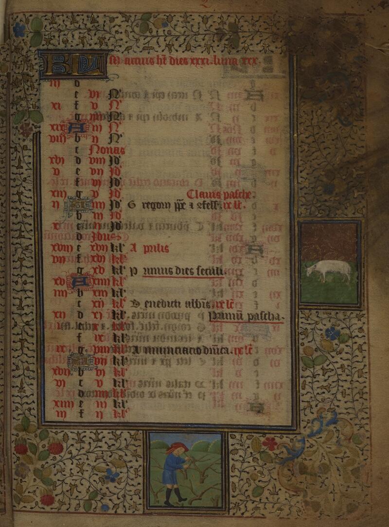 Mâcon, Bibl. mun., ms. 0103, f. 002 - vue 1