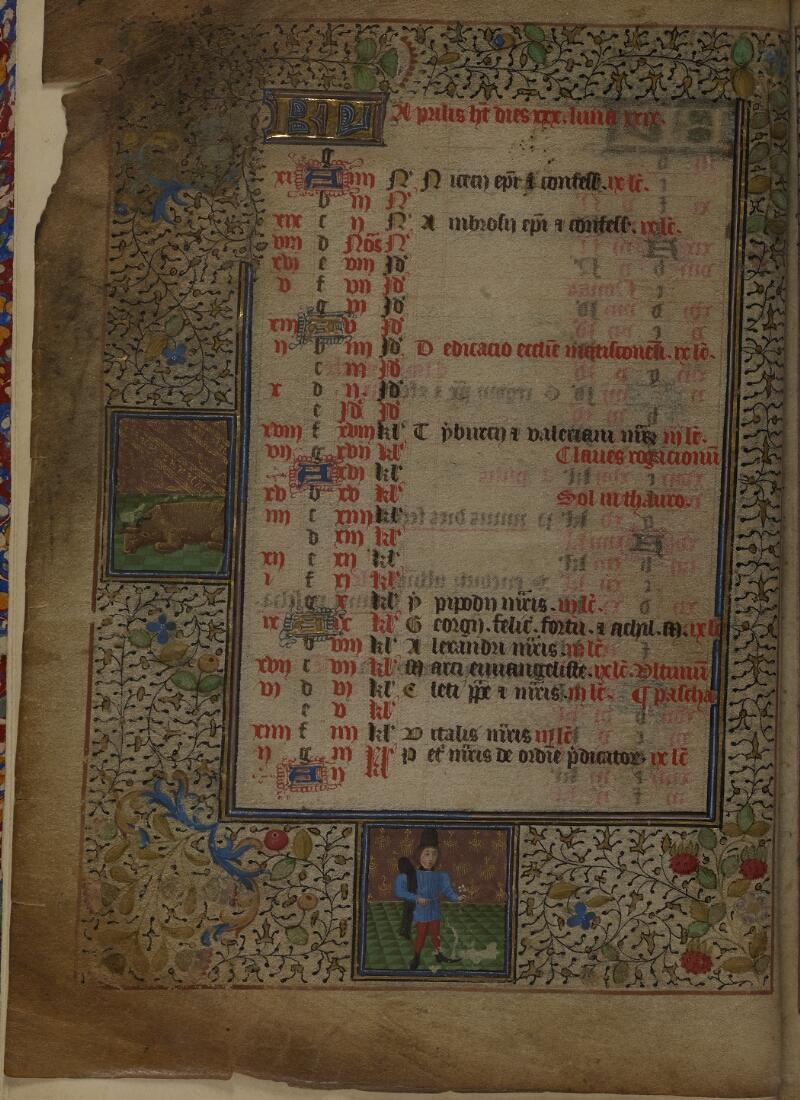 Mâcon, Bibl. mun., ms. 0103, f. 002v - vue 1