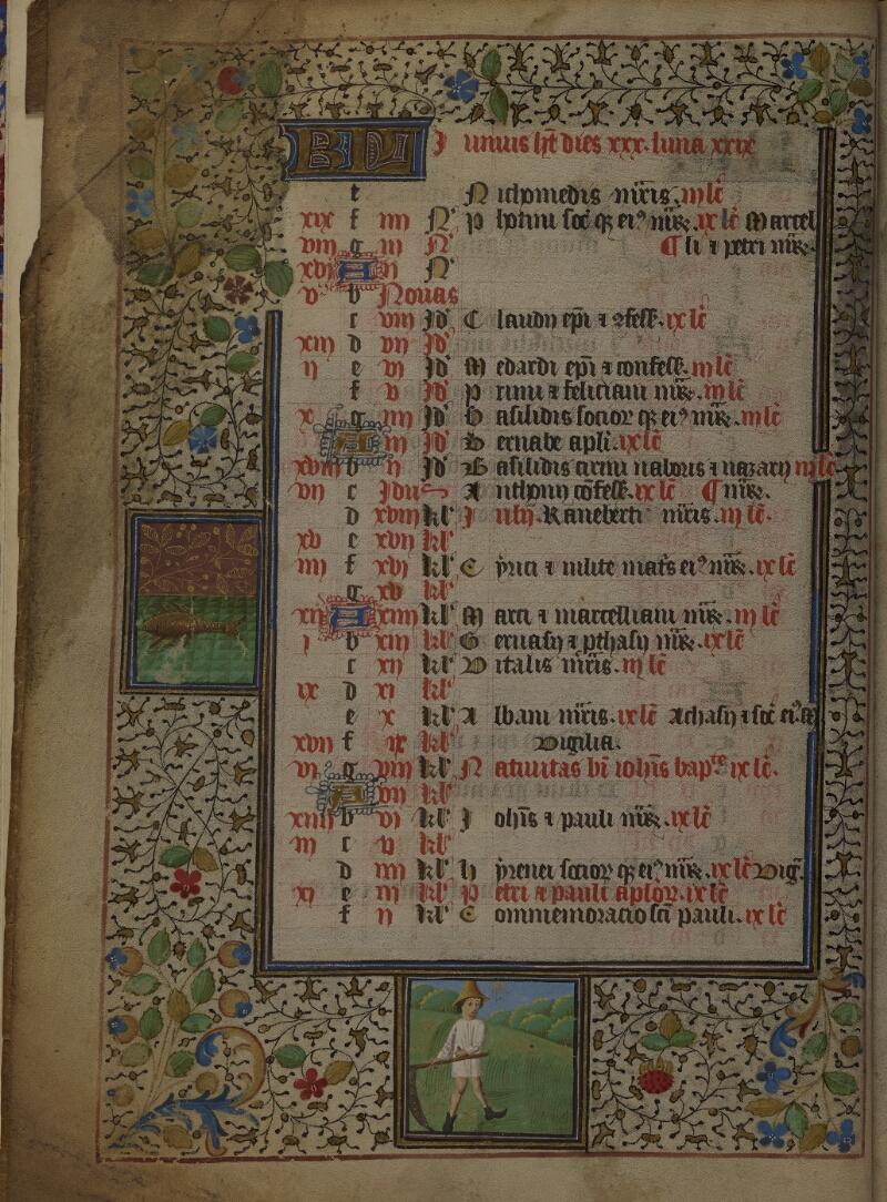 Mâcon, Bibl. mun., ms. 0103, f. 003v - vue 1