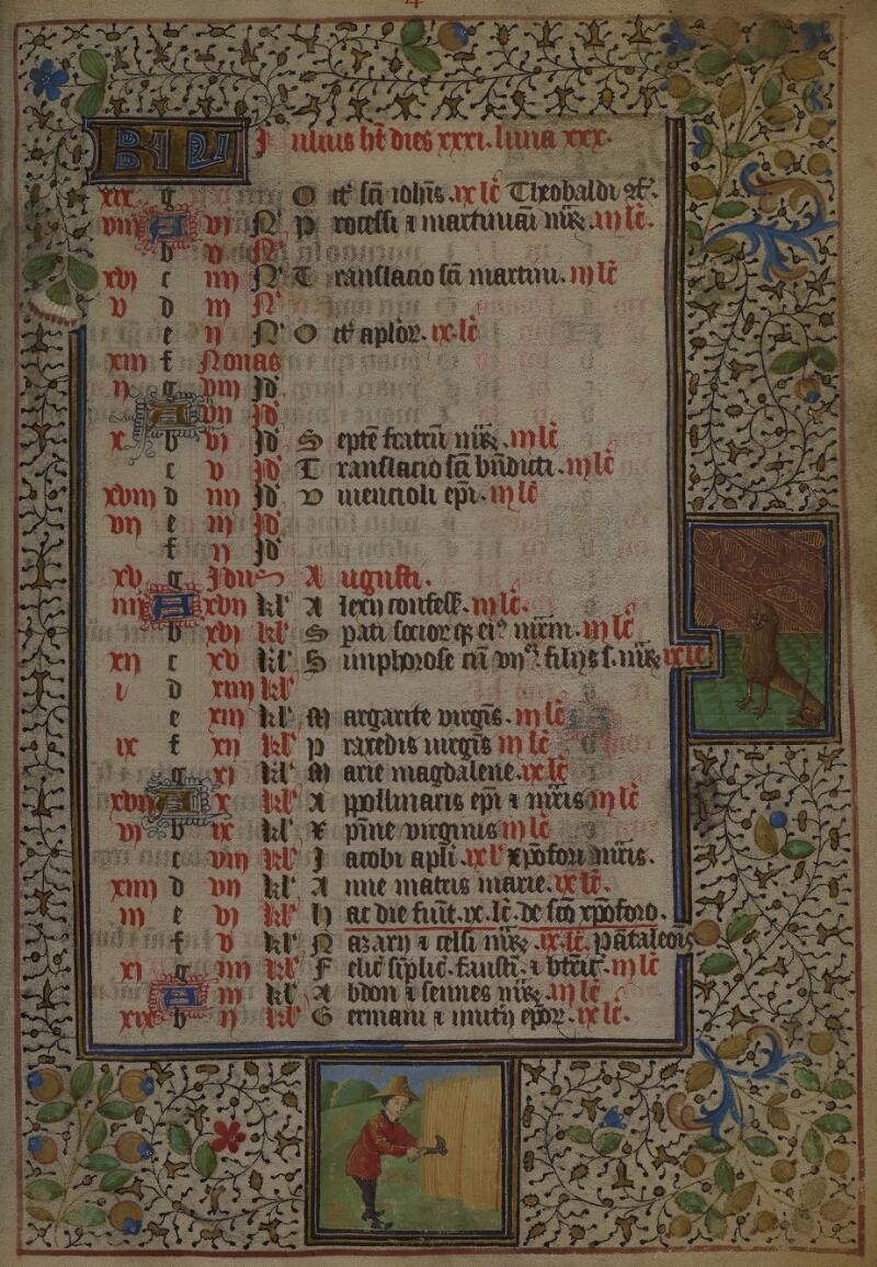 Mâcon, Bibl. mun., ms. 0103, f. 004 - vue 1