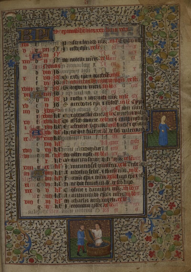 Mâcon, Bibl. mun., ms. 0103, f. 005 - vue 1