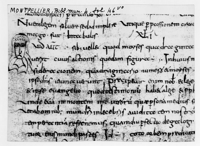 MONTPELLIER, Bibliothèque municipale, 4, f. 46v