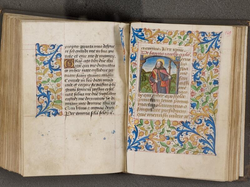 NANTES, Bibliothèque municipale, 0021 (lat. 0021), f. 144v - 145