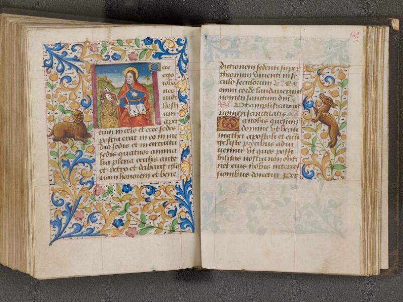 NANTES, Bibliothèque municipale, 0021 (lat. 0021), f. 148v - 149