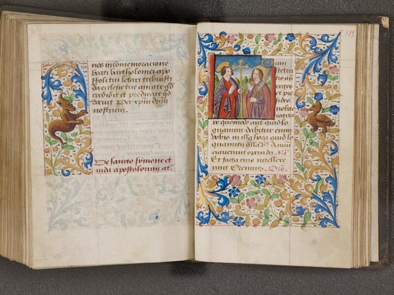 NANTES, Bibliothèque municipale, 0021 (lat. 0021), f. 151v - 152