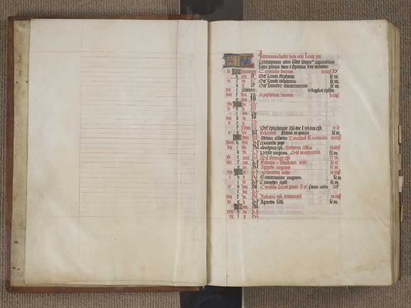 NANTES, Musée Dobrée, ms. 0011, f. 002v - 003