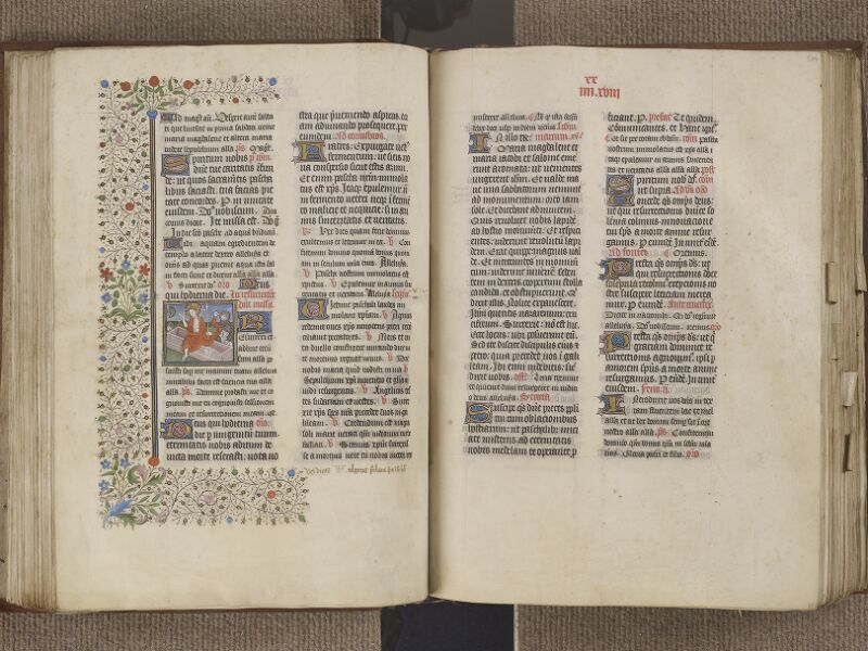 NANTES, Musée Dobrée, ms. 0011, f. 105v - 106