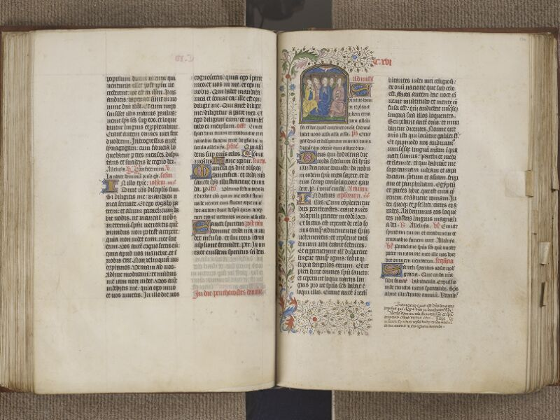 NANTES, Musée Dobrée, ms. 0011, f. 123v - 124