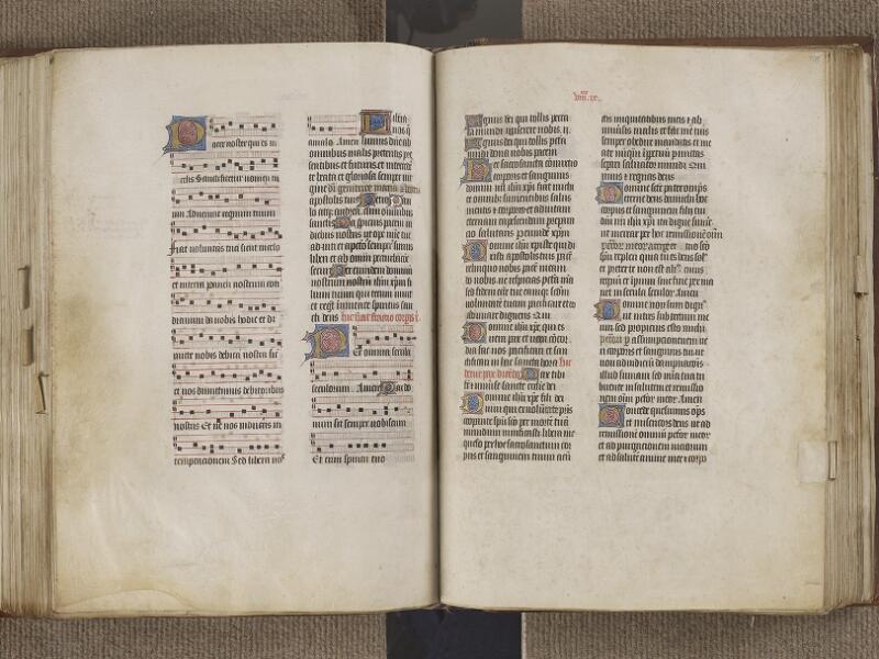 NANTES, Musée Dobrée, ms. 0011, f. 174v - 175