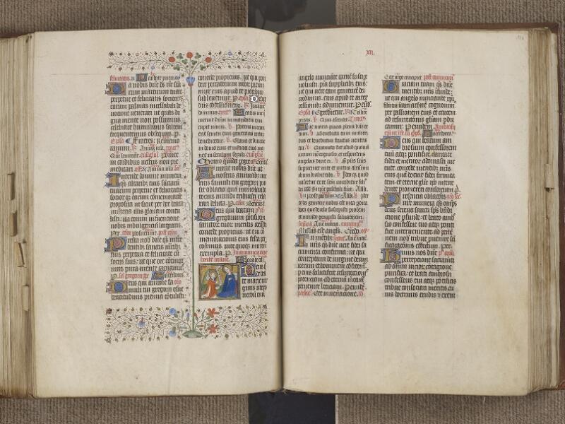 NANTES, Musée Dobrée, ms. 0011, f. 185v - 186
