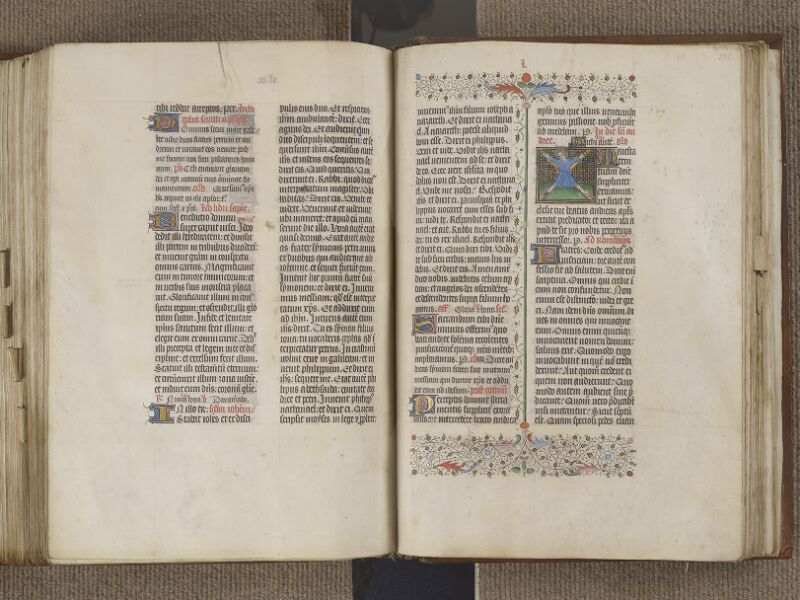 NANTES, Musée Dobrée, ms. 0011, f. 223v - 224