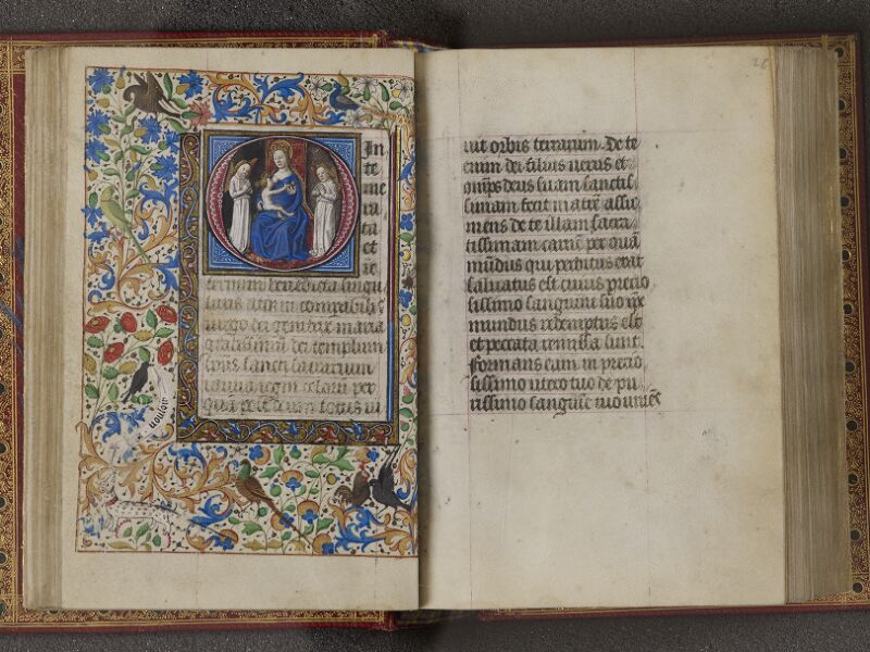 NANTES, Musée Dobrée, ms. 0012 t.1, f. 025v - 026