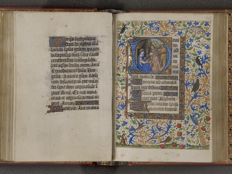 NANTES, Musée Dobrée, ms. 0012 t.1, f. 103v - 104