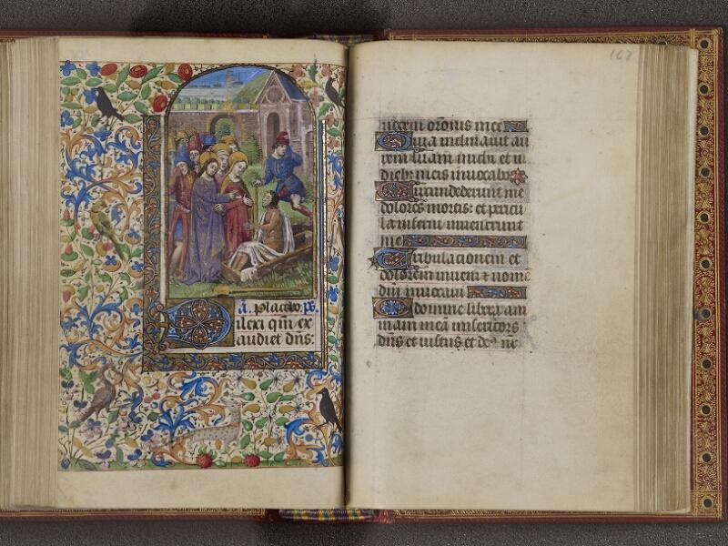 NANTES, Musée Dobrée, ms. 0012 t.1, f. 166v - 167