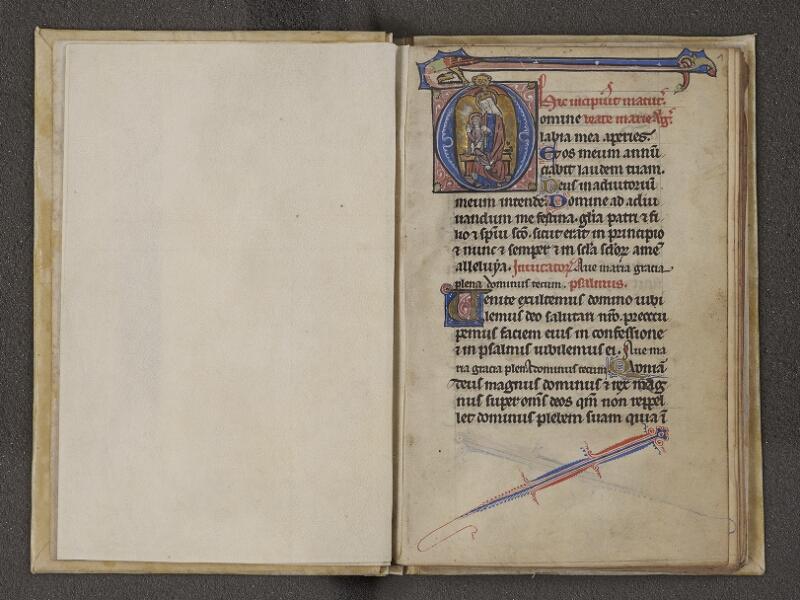 NANTES, Musée Dobrée, ms. 0027, contregarde - f. 001