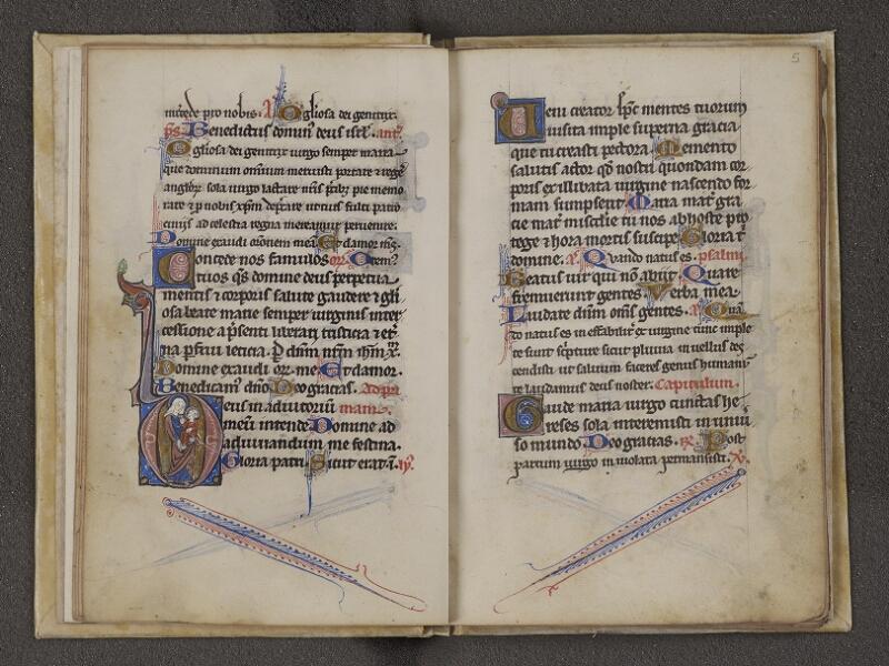 NANTES, Musée Dobrée, ms. 0027, f. 004v - 005