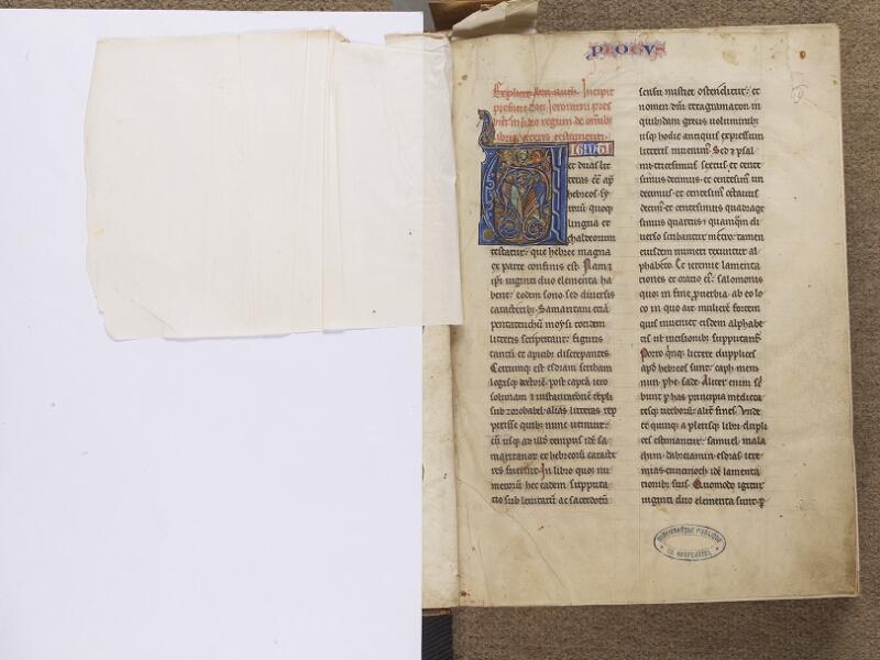 NEUFCHATEL-EN-BRAY, Musée Mathon-Durand, Inv. 68.22.4, garde verso - f. 001