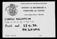 https://iiif.irht.cnrs.fr/iiif/France/Orléans/Institut_de_Recherche_et_d_Histoire_des_Textes/Diplomatique_Corpus_Philippicum_001_AN_JJ_1_34/DEPOT/Corpus_Philippicum_001_AN_JJ_1_34_0001/full/200,/0/default.jpg
