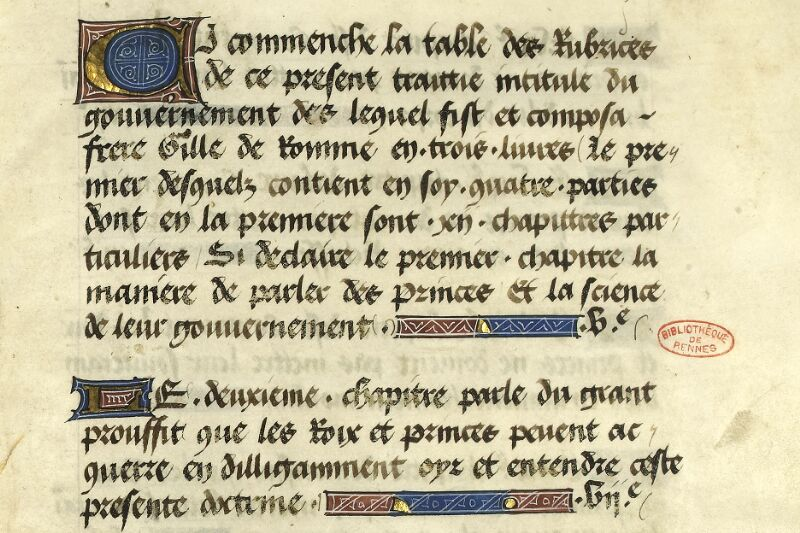 Rennes, Bibl. mun., ms. 0153, f. 000C - vue 3
