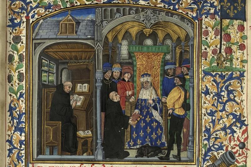 Rennes, Bibl. mun., ms. 0153, f. 001 - vue 2