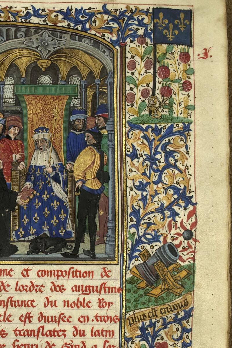 Rennes, Bibl. mun., ms. 0153, f. 001 - vue 3