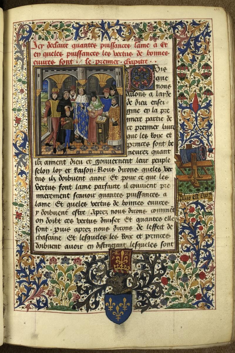 Rennes, Bibl. mun., ms. 0153, f. 022 - vue 1