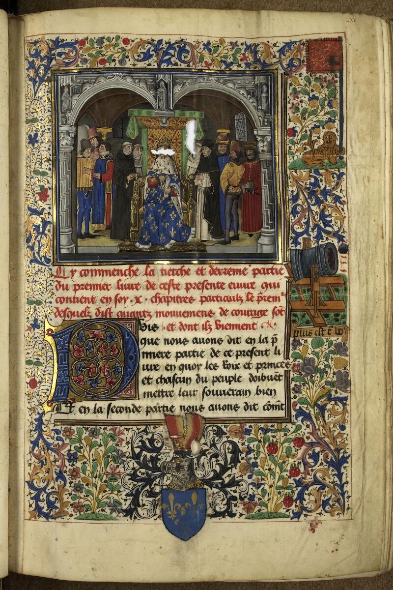 Rennes, Bibl. mun., ms. 0153, f. 070 - vue 1