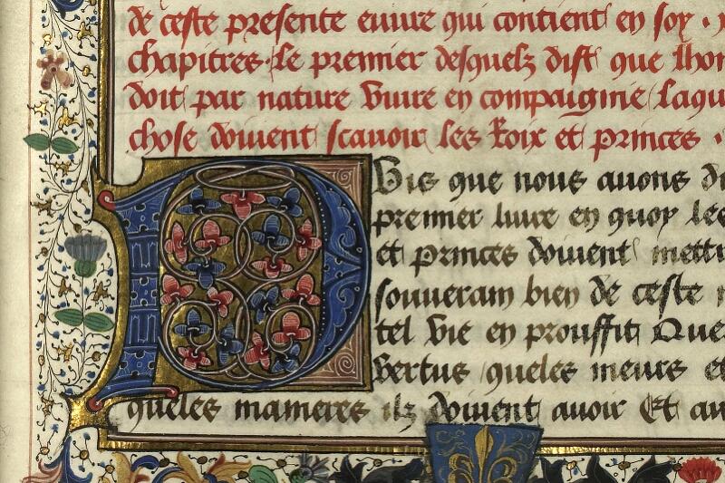 Rennes, Bibl. mun., ms. 0153, f. 106 - vue 3