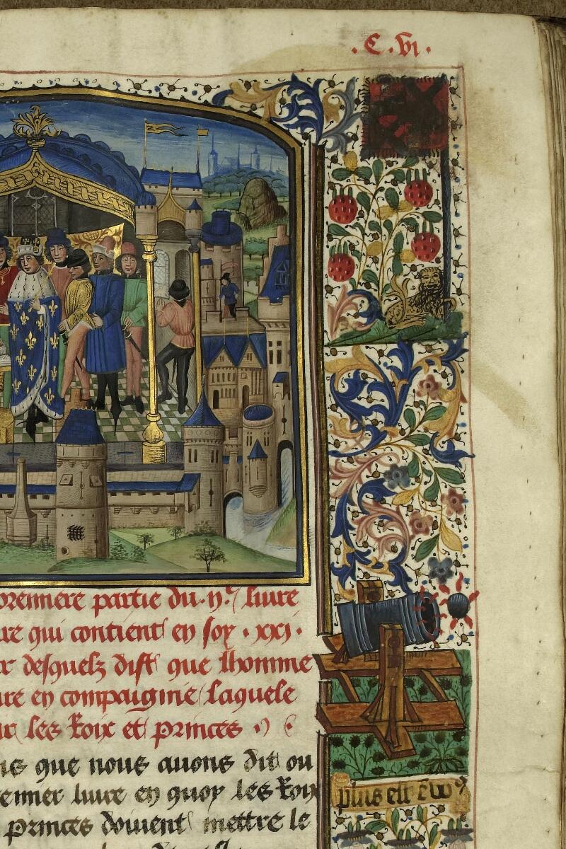 Rennes, Bibl. mun., ms. 0153, f. 106 - vue 4